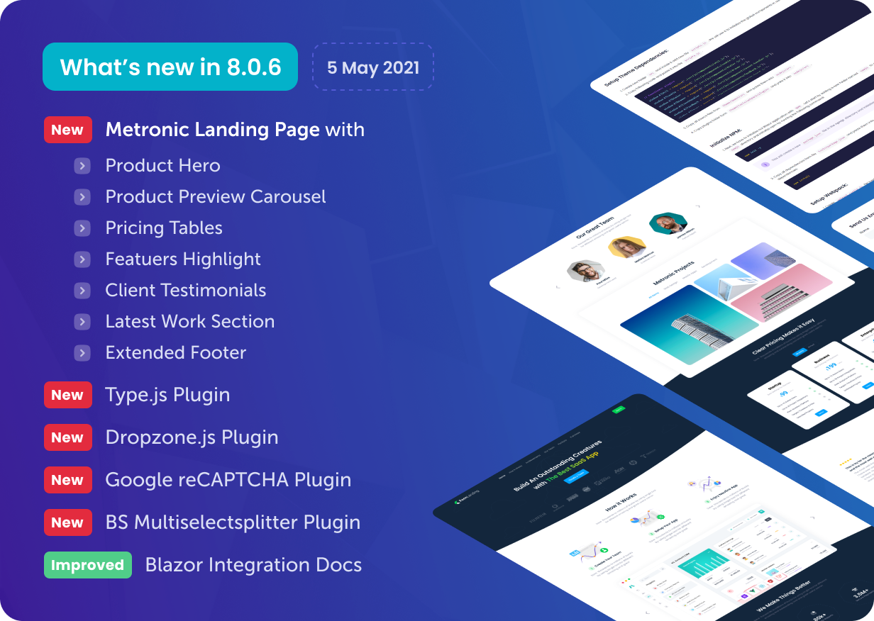 Metronic - Bootstrap 4/5 HTML, VueJS, React, Angular 11 & Laravel Admin Dashboard Theme - 1